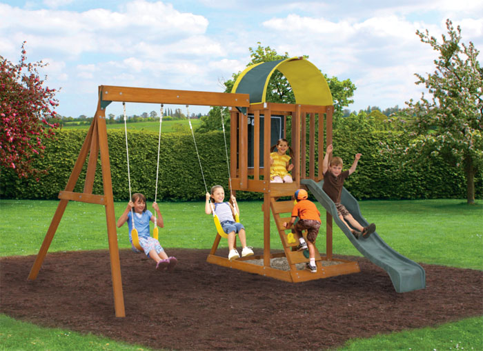 Andorra Wooden Swing Set Review Reviews On Top Branded Playsets